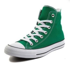 Converse High Top Midnight Clover Green Size 10